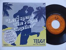 TEDDY AND THE DISCOLETTES Let's spend the night together 2C008 61827 France  RTL