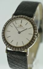 Jaeger leCoultre Classic Vintage 34mm RARE Sterling Silver watch.
