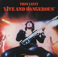 THIN LIZZY - LIVE AND DANGEROUS D/Remaster CD ~ 70's ROCK ~ PHIL LYNOTT *NEW*