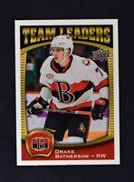 2018-19 18-19 UD Upper Deck AHL Team Leaders #TL-17 Drake Batherson