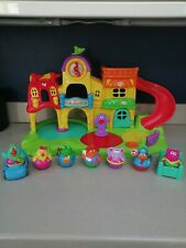 Playskool Weebleville Town Playset with 7 Weebles & Accessories, Excellent