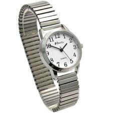 Ravel Ladies Super-Clear Quartz Watch with Expanding Bracelet sil #36 R0232.01.2