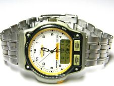 mens Timex ironman Triathlon indiglo Digital LCD Chronograph 8 Lap dress watch