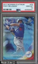 2017 Bowman Platinum Cody Bellinger Los Angeles Dodgers RC Rookie PSA 10