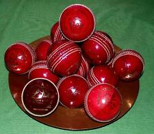 One Quality Hand Stitched Red / Ox Blood LEATHER Cricket Ball : INTERIOR DESIGN