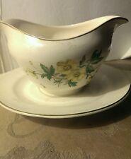 Vintage K England TW 7-50 gravy boat dish bowl