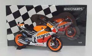 MINICHAMPS Daniel Pedrosa 1/12 #26 Honda Repsol RC 213V Motogp 2014 Limited New