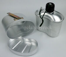 SURPLUS CHINESE MILITARY TYPE 87 CANTEEN MESS TIN WATER BOTTLE-0157