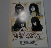LOUDNESS eternal way 1984 JAPAN concert tour PROGRAM Loudness heavy metal