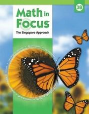 Math In Focus Singapore Approach Grade 3B Kit 2nd Semester New!