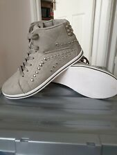 Jumex girls grey/glitters  shoes. Size UK 3/ Eur 36. New without tag