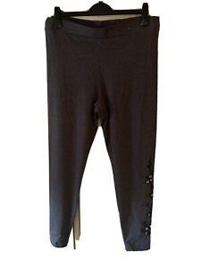 Navy Basic Leggings Size18 By H&M