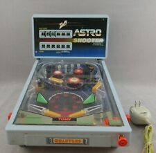 Vintage Tomy Astro Shooter Table Top Pinball Machine Game 1983