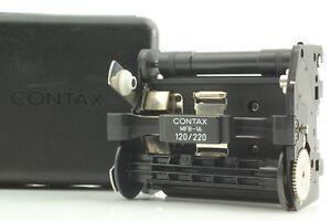 [Near Mint w/Case] CONTAX  MFB-1A Vacuum Insert Film 120/220 645 from JAPAN 2185