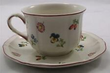 Villeroy & and Boch PETITE FLEUR large breakfast tea cup and saucer