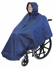 Aidapt 100% Waterproof Disability Wheelchair Poncho For Weather Protection #127C