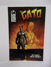 El Gato Negro #1 (of 3) - 1993 Azteca Productions Comic B&W Comic Book - RARE