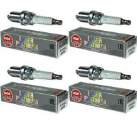 4X NGK Laser Platinum Premium Zündkerze 6458 Typ PFR6Q Zünd Kerze