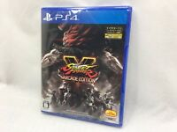 SONY PlayStation 4 PS4 Japan Capcom Street Fighter V Arcade Edition from Japan