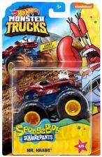 New 2020 Hot Wheels Monster Trucks Spongebob Squarepants Mr. Krabs Rodger Dodger