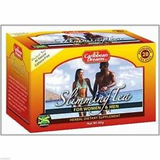 2 x Caribbean Dreams Jamaican Slimming Tea (20 Teabags per pack)