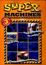 NEW DVD - SUPER MACHINES VOL 7 - 81 min - FRENCH & ENGLISH - 3EPISODES