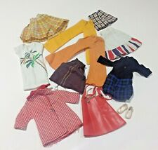 Vintage Sindy Doll Clothing/Outfits Bundle Skirts Trousers Shoes