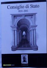 2011 Folder Consiglio di Stato FDC Cartolina e Tessera Filatelica Francobollo