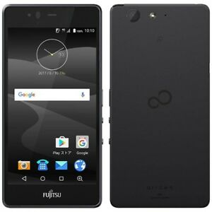 FUJITSU ARROWS M04 PREMIUM VER METAL FRAME TOUGH ANDROID PHONE UNLOCKED BLACK