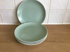 Poole Pottery-CAMEO CELADON Verde - 4 x 18 cm Piastre Laterali/tè