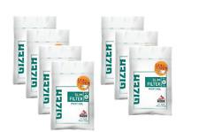 7 Sachets De 120 Filtres Menthol GIZEH Slim-Feuille À Rouler-Filtre cigarette