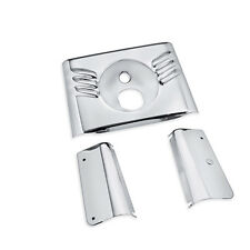 FORK TOP COVER KIT SOFTAIL FLST MOST 86-08. TRIPLE CHROME PLATED!