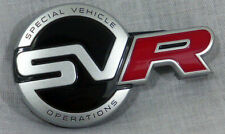 Range Rover Sport Feo L494 Special Vehicle Operations SVR Front Bumper Badge