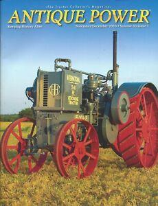Antique Power Magazine Keeping History Alive Antique Tractors Nov/Dec 2020