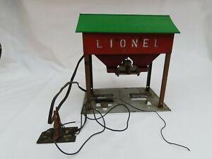 LIONEL #497 COALING STATION FOR PARTS OR RESTORATION.