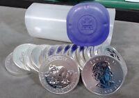 2014 Canada 1.5 oz Silver $8 Arctic Fox Original Tube of 15 Coins