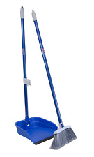 Quickie Stand and Store Stand & Store Lobby Broom and Dustpan Set 487, 1-Pack