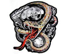 Dio non voleva e-numero Biker Heavy Rocker PATCH RICAMATE tonaca MOTO