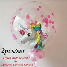 1set Unicorn Foil Balloons Baby Shower Wedding Decor Birthday Party Supplies