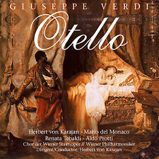 CD Giuseppe Verdi Otello Herbert von Karajan, Wiener Philharmoniker 2CDs
