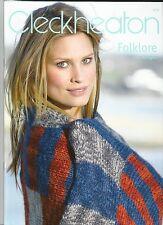 Cleckheaton FOLKLORE 12 Designs Book 972  * New
