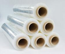 6 Rollen Stretchfolie transparent 23my Palettenfolie Wickelfolie  500 mm 2,4 kg
