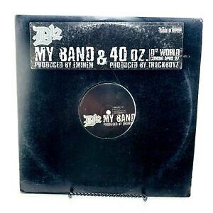 "D12 My Band / 40 Oz. 12"" Single | Shady Records 2004 | Sleeve VG | Vinyl VG"