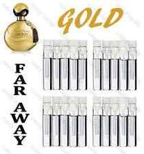 AVON Ladies Womens Perfume Fragrance Samples Travel Bag Size EDP ~ FAR AWAY GOLD