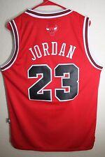 YOUTH Chicago Bulls Michael Jordan Red Throwback Classic Swingman Jersey KIDS