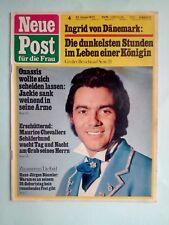 Neue Post4 /  1972 * Onassis *Bäumler * Jacky * Lollobrigida * Heino