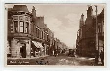 HIGH STREET, METHIL: Fife postcard (C25432)