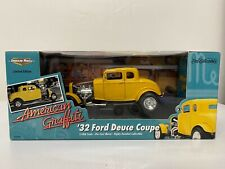 1932 Ford Deuce Coupe Hot Rod American Graffiti ERTL 1:18 Yellow