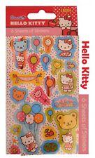 Hello Kitty Fiesta Favor 6 Hoja De Pegatinas De Niños Personaje