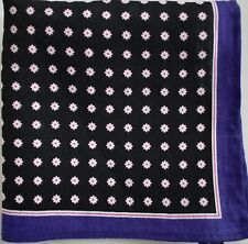 New MICHELSON'S MICHELSONS 100% LINEN Pocket Square Handkerchief Hanky